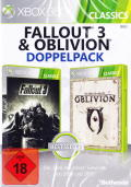 Fallout 3 & Oblivion Double Pack Xbox 360 Front Cover