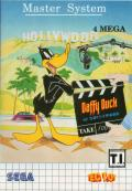 Daffy Duck in Hollywood SEGA Master System Front Cover