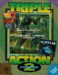 Triple Action: Volume 2 DOS Front Cover