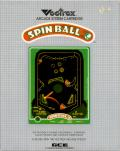 Spin Ball Vectrex Front Cover