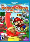 Paper Mario: Color Splash Wii U Front Cover