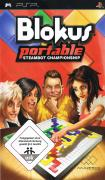 Blokus Portable: Steambot Championship PSP Front Cover