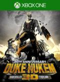 Duke Nukem 3D: 20th Anniversary World Tour Xbox One Front Cover first version