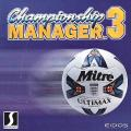 Championship Manager 3 Windows Front Cover