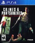 Crimes & Punishments: Sherlock Holmes PlayStation 4 Front Cover