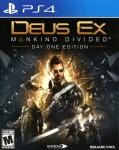 Deus Ex: Mankind Divided (Day One Edition) PlayStation 4 Front Cover