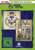 Die Siedler III: Gold Edition + Die Siedler IV: Gold Edition Windows Front Cover