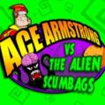 Ace Armstrong Vs. The Alien Scumbags PlayStation 3 Front Cover