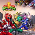 Saban's Mighty Morphin Power Rangers: Mega Battle PlayStation 4 Front Cover