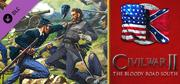 Civil War II: The Bloody Road South Windows Front Cover