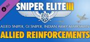 Sniper Elite III: Afrika - Allied Reinforcements Outfit Pack Windows Front Cover