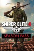 Sniper Elite 4: Italia - Season Pass Xbox One Front Cover 2nd version