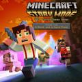 Minecraft: Story Mode - Episode 4: A Block and a Hard Place PlayStation 4 Front Cover