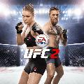 EA Sports UFC 2 PlayStation 4 Front Cover