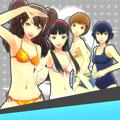 Persona 4: Dancing All Night - Girls' Swimsuit Set PS Vita Front Cover
