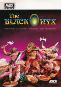 The Black Onyx MSX Front Cover