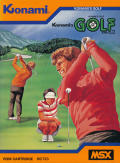 Konami's Golf MSX Front Cover