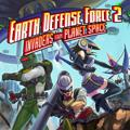 Earth Defense Force 2: Invaders from Planet Space PS Vita Front Cover