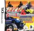 ATV: Thunder Ridge Riders / Monster Trucks Mayhem Nintendo DS Front Cover