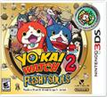Yo-kai Watch 2: Fleshy Souls Nintendo 3DS Front Cover
