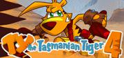 Ty the Tasmanian Tiger 4 Windows Front Cover