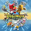 Digimon All-Star Rumble PlayStation 3 Front Cover