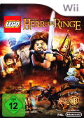 LEGO The Lord of the Rings Wii Front Cover