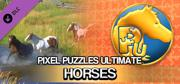 Pixel Puzzles Ultimate: Horses Windows Front Cover