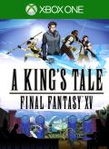 A King's Tale: Final Fantasy XV Xbox One Front Cover 1st version
