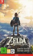 The Legend of Zelda: Breath of the Wild (Limited Edition) Nintendo Switch Front Cover