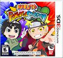 Naruto: Powerful Shippuden Nintendo 3DS Front Cover