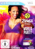 Zumba Fitness: World Party Wii Front Cover