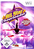 All Star Cheer Squad Wii Front Cover