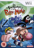 The Grim Adventures of Billy & Mandy Wii Front Cover