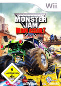 Monster Jam: Urban Assault Wii Front Cover