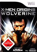 X-Men Origins: Wolverine Wii Front Cover