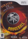 Pirates vs. Ninjas Dodgeball Wii Front Cover