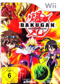 Bakugan: Battle Brawlers Wii Front Cover