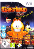 The Great Garfield Show: The Threat of the Space Lasagna Wii Front Cover