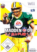Madden NFL 09 All-Play Wii Front Cover