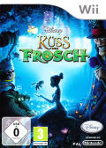 Disney The Princess and the Frog Wii Front Cover