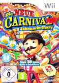 New Carnival Games Wii Front Cover