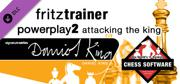 Fritz for Fun 13: Fritztrainer - Powerplay 2: Attacking the King Windows Front Cover
