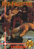 Pit-Fighter Genesis Front Cover