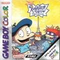Rugrats in Paris: The Movie Game Boy Color Front Cover