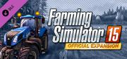 Farming Simulator 15: Official Expansion - Gold Macintosh Front Cover