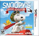 The Peanuts Movie: Snoopy's Grand Adventure Nintendo 3DS Front Cover