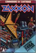 Zaxxon Commodore 64 Front Cover