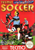 Tecmo World Cup Soccer NES Front Cover