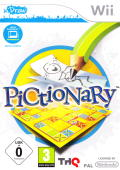 Pictionary Wii Front Cover